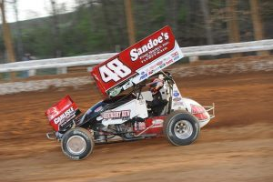 Danny Dietrich during action at Bedford Speedway earlier this season - Paul Arch Photo Credit