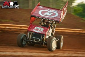 Photo: Danny Dietrich on the gas at Lincoln Speedway - Killer Mile Motorsports Photo Credit