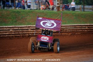 Photo: Danny Dietrich on the gas at Williams Grove Speedway - WRT Speedwerx Photo Credit