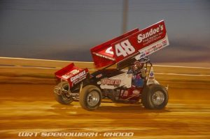 Danny Dietrich during action at Williams Grove Speedway on July 15 - WRT Speedwerx Photo Credit