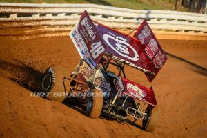 Danny Dietrich at Williams Grove Speedway during Summer Nationals - Jason Walls Photo Credit