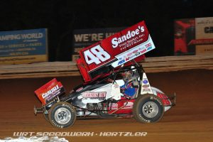 Danny Dietrich racing at Williams Grove Speedway during a recent start - WRT Speedwerx Photo Credit