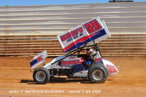 Danny Dietrich on his way to victory lane during Labor Day Classic at Port Royal Speedway - WRT Speedwerx Photo Credit